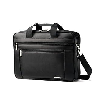 (3.4折)新秀丽Samsonite Luggage Classic Business Briefcase真皮商务公文包$40.97