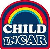 CHILD IN CAR チャイルドインカー [Arch アーチ : POPネイビー] セーフティー アウトレット ステッカー 車 ランキングお取り寄せ