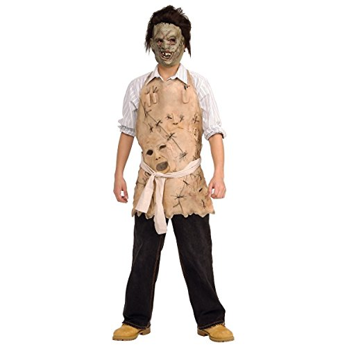 [GSG Leatherface Apron of Souls Costume Kids Texas Chainsaw Massacre Halloween] (Dark Souls Black Knight Costume)