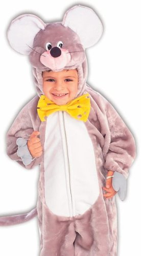Forum Kids Plush Mouse Outfit Cute Animal Halloween Costume
