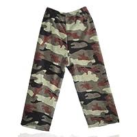 Fuzzy Furry Army Camo Camouflage Lounge Pants Pajamas Super Soft Youth