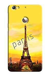 Omnam Paris printed with effil tower back cover for LeTv Le 1s