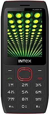 Intex Flash P1 (Black-Red)
