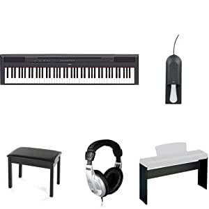 Yamaha P115B Digital Piano with Stand, Bench,