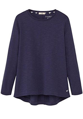 mango-kids-t-shirt-mit-t-shirts-armelumschlag-size9-10-jahre-colortintenblau