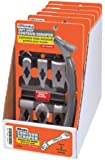 Allway Tools Soft Grip Contour Scraper Set with 6 Blades