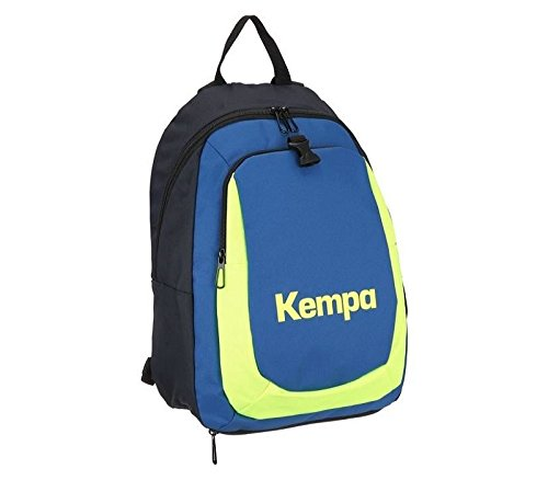 Kempa, Zaino Bambino, Blu (Marine/Royal/Fluo Gelb), 35 x 23 x 44 cm, 20 litri