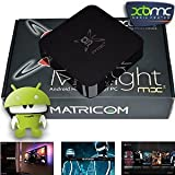 G-Box Midnight MX2 KODI Linux Fully Loaded XBMC Streaming Mini HTPC TV Box Player
