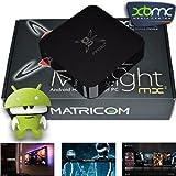 G-Box Midnight MX2 Linux Fully Loaded XBMC Streaming Mini HTPC TV Box Player