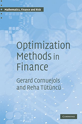 Optimization Methods in Finance (Mathematics, Finance and...