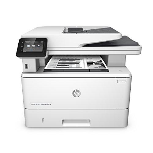HP Pro M426fdw F6W15A Stampante Multifunzione, Funzione Stampa/Copia/Scansione/Fax, Bianco