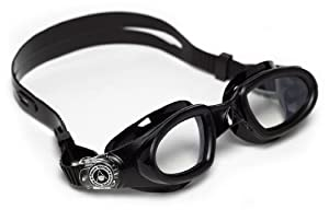 Aqua Sphere Mako Swim Goggle, Black, Clear