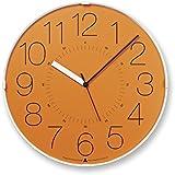 Lemnos CARA 電波時計 オレンジ