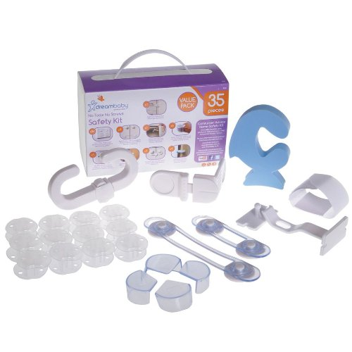 Dreambaby No Tools No Screws Safety Kit, 35 Piece