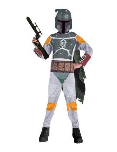 Star Wars Child'S Boba Fett Costume, Small front-785882