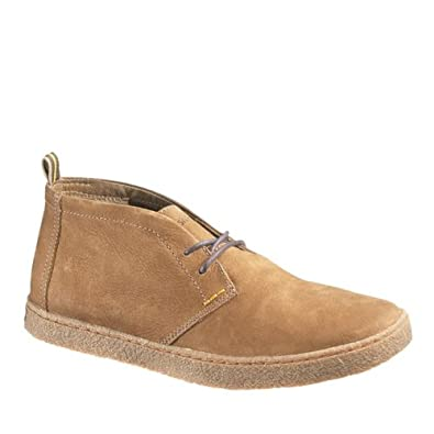 Hush Puppies Men's Lockout Chukka PL,Tan Nubuck,US 8 M