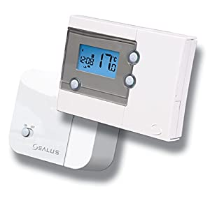 salus rt500rf thermostat d 39 ambiance programmable amazon. Black Bedroom Furniture Sets. Home Design Ideas