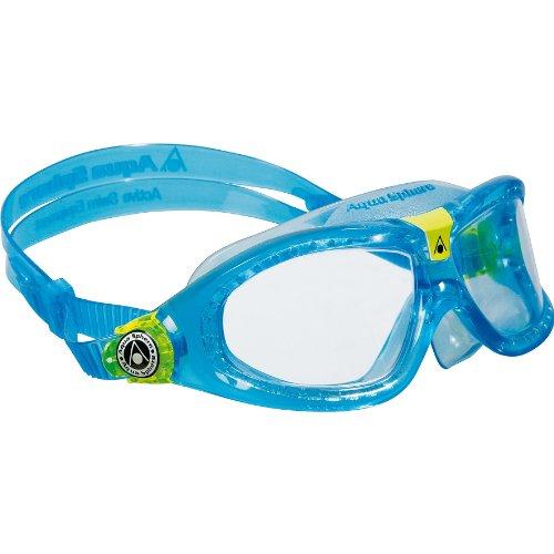 Aqua Sphere Seal 2 Kinder Taucherbrille / Schwimmbrille, durchsichtige Gläser