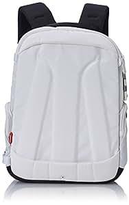 Manfrotto MB SB390-3SW Stile Veloce III Sac à dos Petit pour Reflex monté + 2-3 Objectifs + Trépied + Netbook Blanc