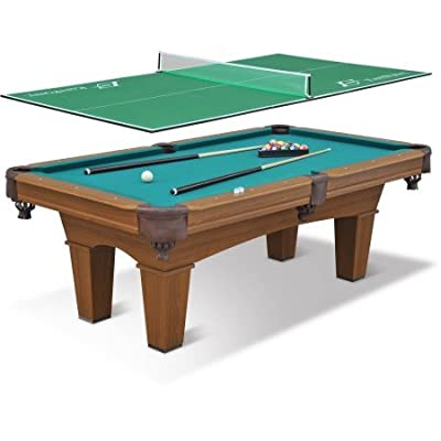 """EastPoint Sports 87"""" Sinclair Billiard Table with 3-Piece Table Tennis Top 