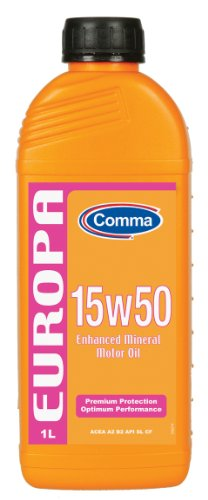 Comma EUR1L Europa 15W-50 Enhanced Mineral Motorenöl 1 L