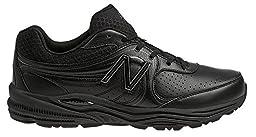 New Balance Men\'s MW840 Health Walking Shoe,Black,13 4E US