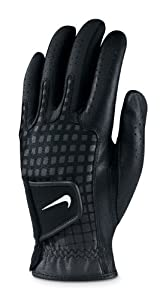 NIKE Tech Xtreme Regular Black/White-Gunmetal-Black Glove (Left Hand, Small)