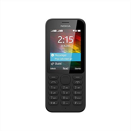 Nokia 215 (Dual SIM, Black)