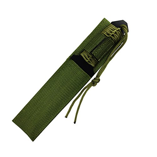 WOWOWO-Combat-Tactical-Knife-for-Outdoor-Camping-Survivor-with-Nylon-Sheath-Fixed-Blade