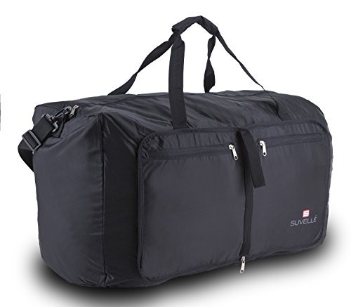 "Suvelle 29"" Inch Large Capacity Foldable Duffel Bag, For Travel, Nylon Water-Resistant Durable, Packable Lightweight, For Luggage, Carry-on, Sports, Gym Bag, School Bag And More"