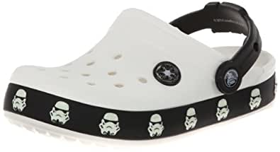 crocs CB Star Wars Stormtrooper Clog (Toddler/Little Kid/Big Kid),White/Black,C4/5 US Toddler