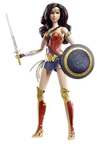 Mattel - Barbie Collector - Batman V Superman: Dawn of Justice Wonder Woman Doll - Red/Blue/Gold DGY05