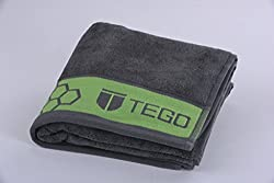 TEGO Antimicrobial Sports Towel - Cool Grey Green