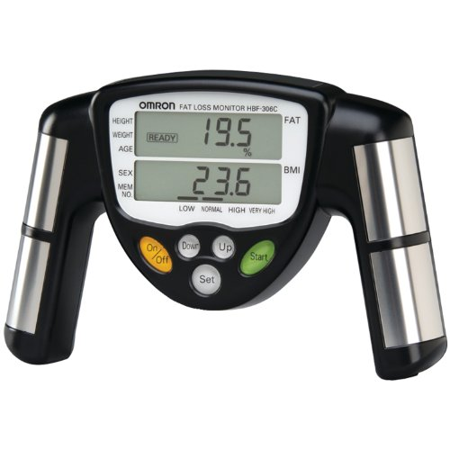 Cheap Omron HBF-306C Fat Loss Monitor, Black (HBF-306C)