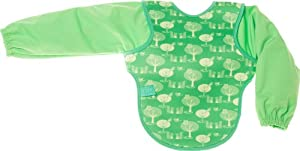 Bibetta Ultrabib Baby Bib with Sleeves (Green Owl)