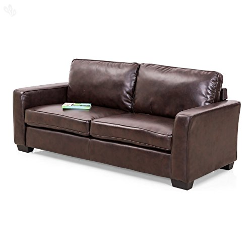 Royal Oak Daisy Three Seater Sofa (Brown)