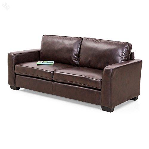 Royal Oak Daisy Three Seater Sofa (Brown)