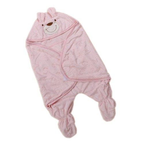 Pink Bear Infant Sleep Sack Bag Toddler Baby Wearable Blanket Newborn Swaddle