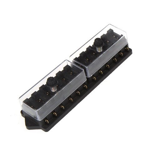 Docooler® Universal Car Truck Vehicle 12 Way Circuit Automotive Middle-sized Blade Fuse Box Block Holder