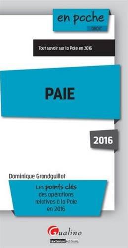 Paie 2016