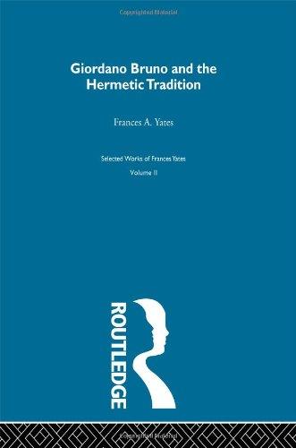 Giordano Bruno & Hermetic Trad (Selections)