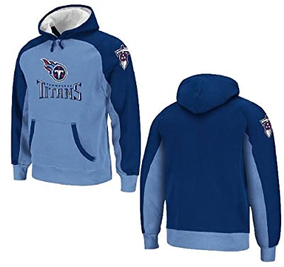 Tennessee Titans Youth QB Jersey Hooded Sweatshirt by Reebok