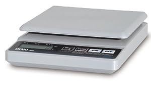 Pelouze PE5 5-lb.Straight Weigh Digital Postal Scale, 5-7/8 x 5-7/8 Platform