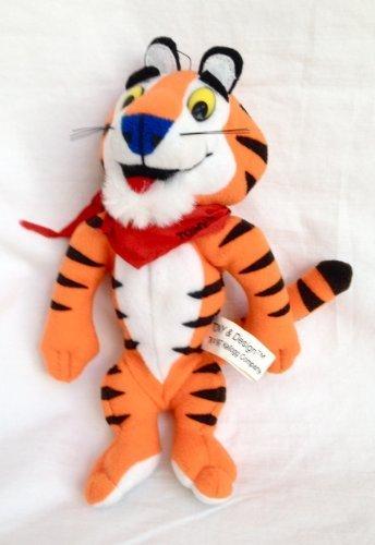 """Kellogg's Tony the Tiger 7"""" Plush Bean Bag by Kellogg Company"""