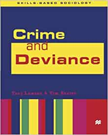 custom based deviance and crimes A crime is defined as any act that is contrary to legal code or laws there are many different types of crimes, from crimes against persons to victimless crimes and violent crimes to white.