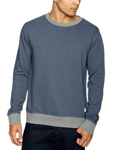 Cottonfield Ruepen Men's Sweatshirt Dusky Blue Small