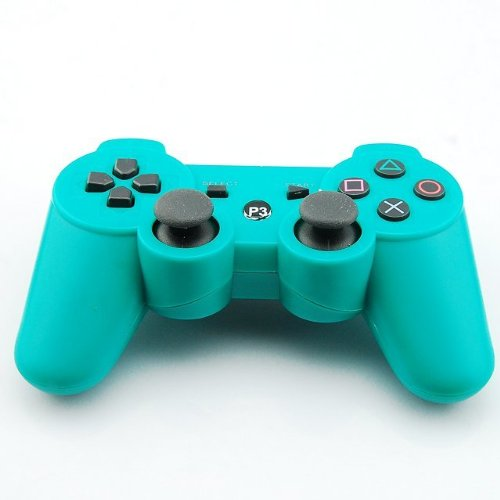 Buy Cheap Goliton® New Green Dual Shock Wireless Bluetooth Game Controller For Sony Playstation PS3