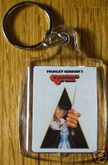 Clockwork Orange Keychain