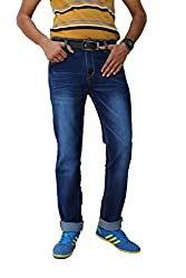 D-NIMES Denim Regular Fit Men's Jeans (30)