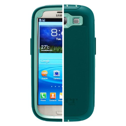 OtterBox Defender Series for Samsung Galaxy S III - Retail Packaging - Reflection